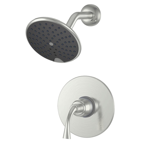 Shop Fontaine Adelais Brushed Nickel Single Handle Shower Faucet