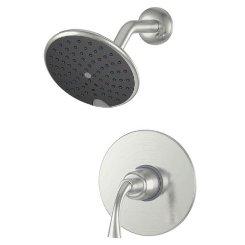 Fontaine 'Adelais' Brushed Nickel Single-handle Shower Faucet and Valve