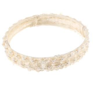 Sweetie Pie Girls Lace and Beaded Headpiece