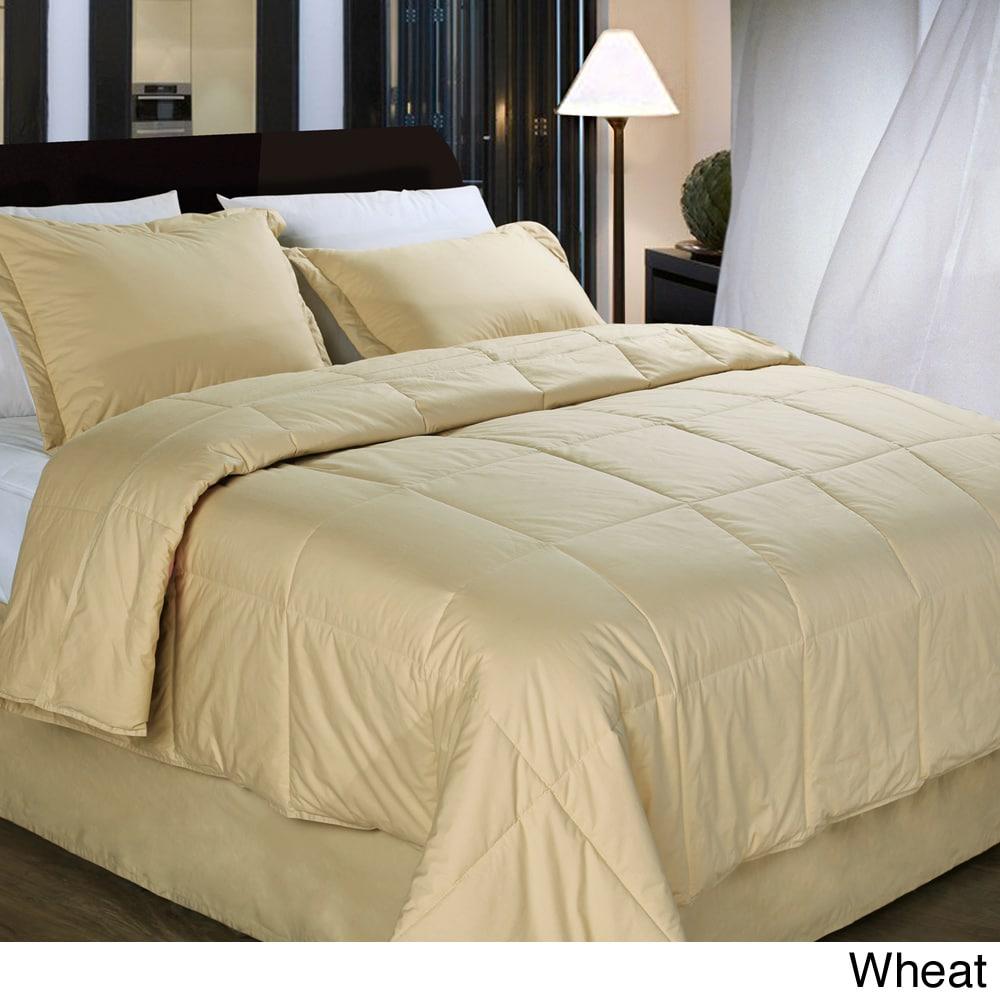 Cottonloft All Natural Down Alternative Cotton-filled 4-piece Comforter Set