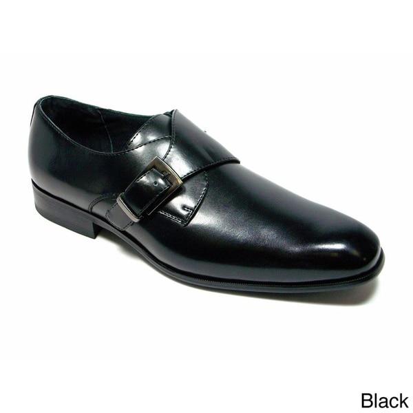 Delli Aldo Men's Classic Round Toe with Buckle Loafers