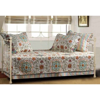 Greenland Home Fashions Esprit Spice Cotton Quilted 5-piece Daybed Set