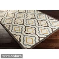 Hand-tufted Modern Geometric Wool Area Rug