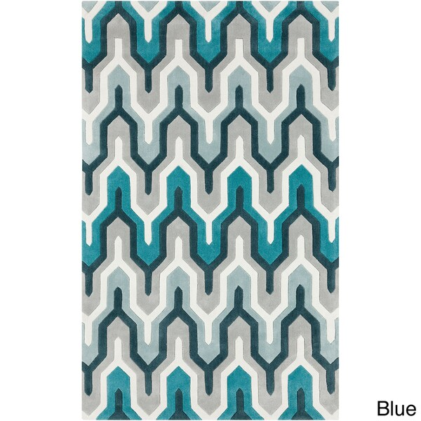 Hand-tufted Contemporary Geometric Area Rug