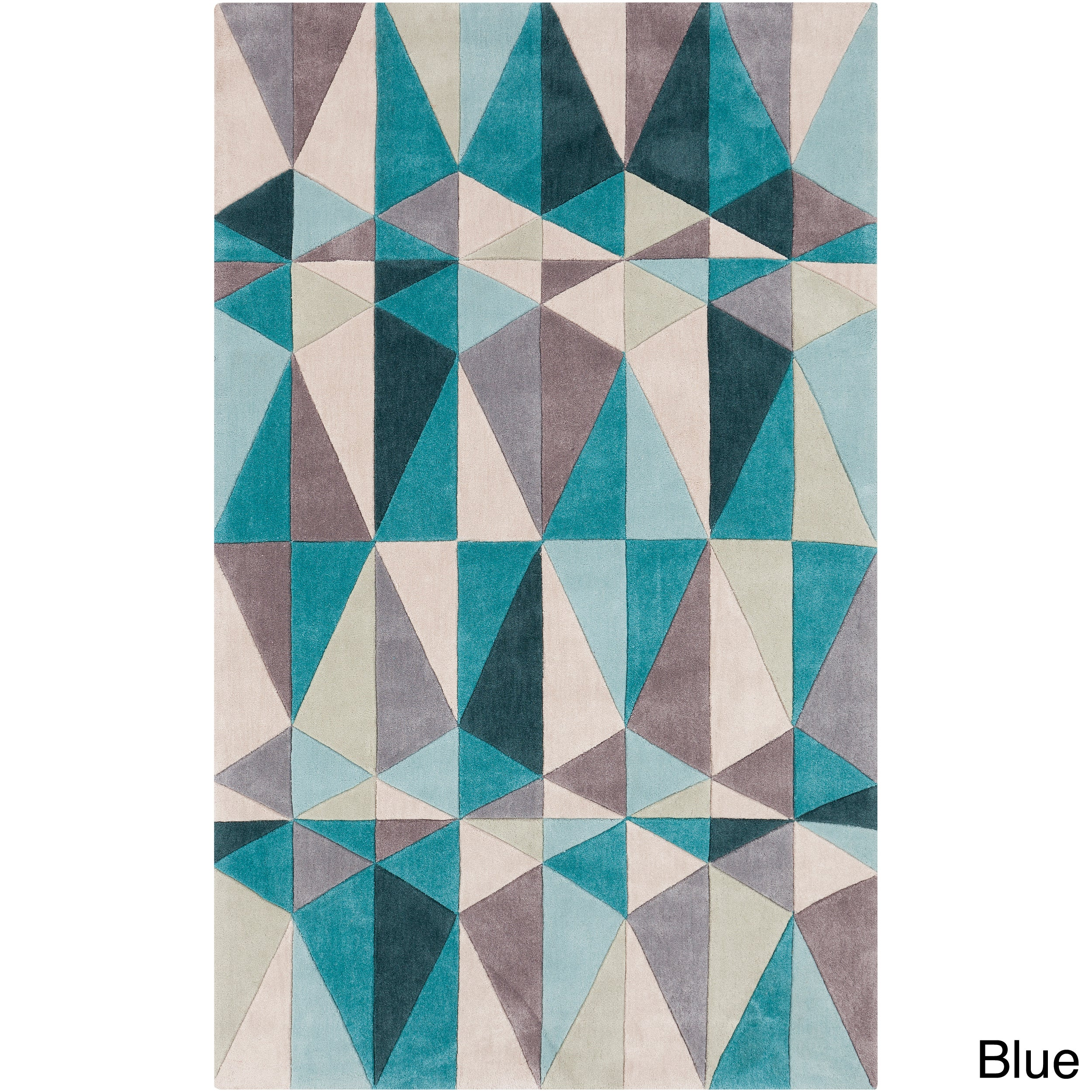On Your Feet Hand-tufted Contemporary Geometric Rug (8' x...