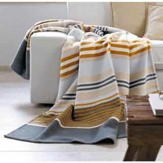 Solare Cotton Pure Mix Stripes Oversize Throw