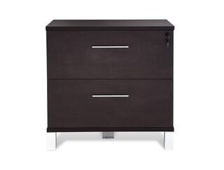 Jesper Office 500 Espresso Lateral File Cabinet