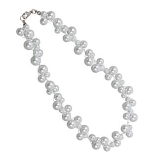 NEXTE Jewelry White Freshwater Pearl Cluster Necklace (6-10 mm)|https://ak1.ostkcdn.com/images/products/8095934/8095934/NEXTE-Jewelry-White-Freshwater-Pearl-Cluster-Necklace-6-10-mm-P15447158.jpg?impolicy=medium