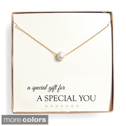 'Special Gift' Floating Freshwater Pearl Necklace Gift Set (2 options available)