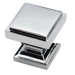 southern hills polished chrome square cabinet knobs pack of 10