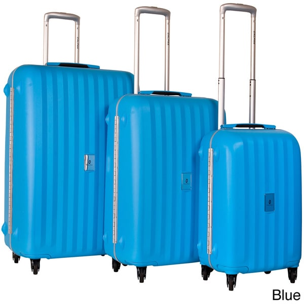 CalPak Festival 3-piece Polypropylene Spinner Luggage Set