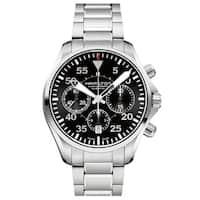 Hamilton Khaki Aviation Pilot Auto Chrono Stainless Steel Men's Watch