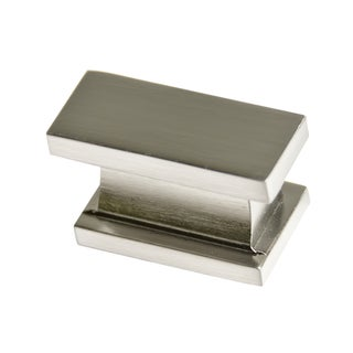 Southern Hills Satin Nickel Rectangular Cabinet Knobs (Pack of 10)