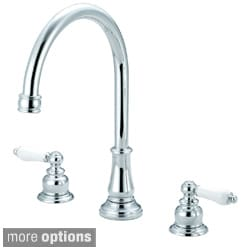 Pioneer Brentwood Series Classic Two-Handle Kitchen Widespread Faucet