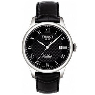 Tissot Men's 'LeLocle' Black Dial Watch