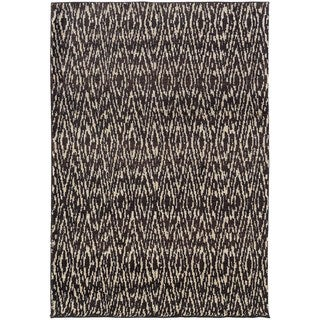Old World Tribal Ivory/ Grey Rug (4' x 5'9)