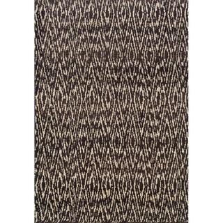 Old World Tribal Ivory/ Grey Rug (5'3 x 7'6)