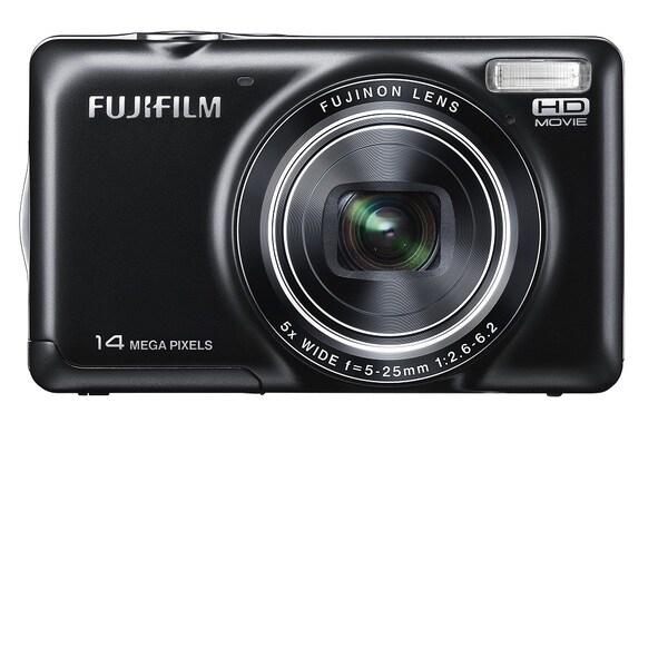 Fujifilm FinePix JX370 14MP Black Digital Camera