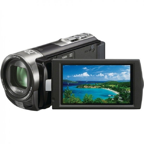 Sony DCR-SX45 SD Flash Memory Black Camcorder