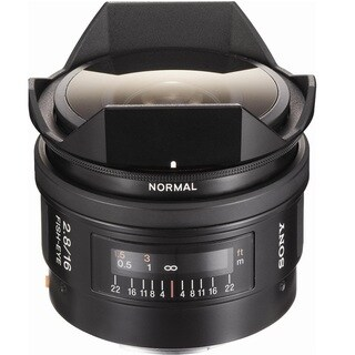 Sony 16mm f/2.8 Alpha A-Mount Fisheye Lens