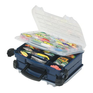 Plano 2-Sided Double-Cover Blue Tackle Box 3952-10