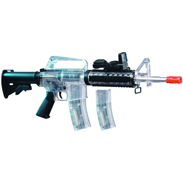 Crosman Clear/Black Stinger R34 Air Soft Rifle