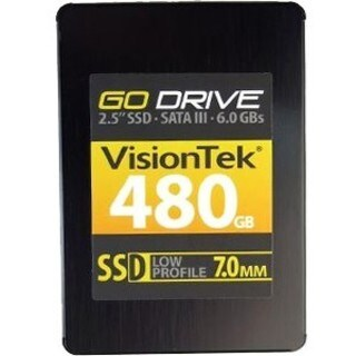 "VisionTek GoDrive 480 GB 2.5"" Internal Solid State Drive - SATA"