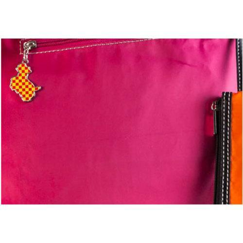 Women's Sydney Love Best in Show Reversible Tote Orange/Pink - Thumbnail 2
