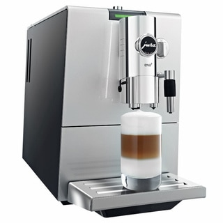 Jura-Capresso Silver/ Black ENA 9 One Touch Automatic Coffee and Espresso Center (Refurbished)