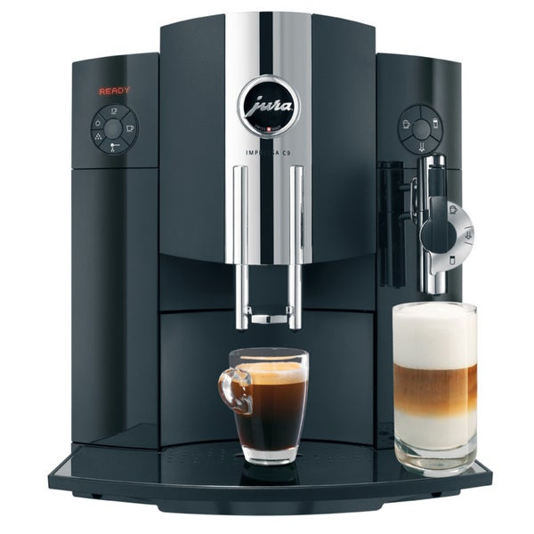jura black impressa c9 one touch coffee and espresso center refurbished - Jura Espresso