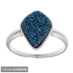 La Preciosa Sterling Silver Druzy Ring