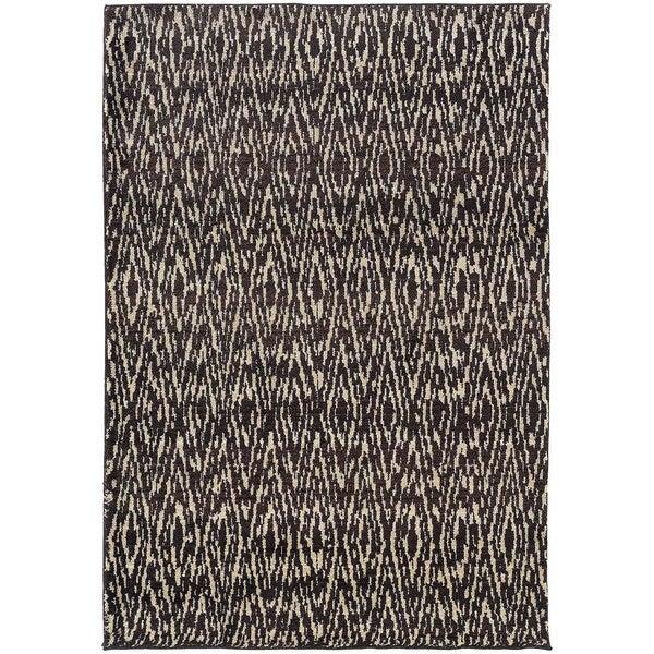 "Old World Tribal Ivory/ Grey Rug (7'10 x 10'10) - 7'10"" x 10'10"""