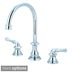 Pioneer Del Mar Series Double-Handle Three-Hole Kitchen Widespread Faucet