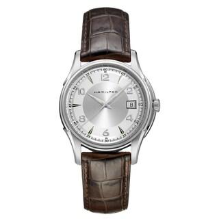 Hamilton Men's 'Jazzmaster Gent' Silvertone Dial Watch