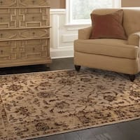 Copper Grove Aster Oriental Ivory/ Brown Area Rug - 7'10' x 10'10'