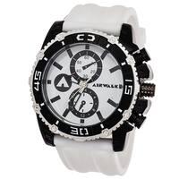 Airwalk Men's Black / White High Roller Chronograph Watch