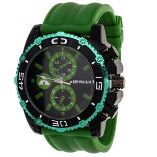 Airwalk Men's Green High Roller Chronograph Watch
