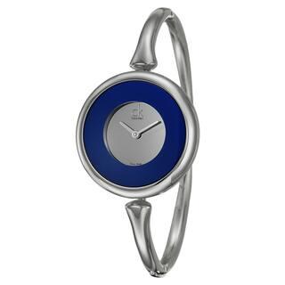 Calvin Klein Women's 'Sing' Stainless Steel Swiss Quartz Watch|https://ak1.ostkcdn.com/images/products/8098982/8098982/Calvin-Klein-Womens-Sing-Stainless-Steel-Swiss-Quartz-Watch-P15449558.jpg?impolicy=medium