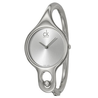 Calvin Klein Women's 'Air' Steel Swiss Quartz Watch with 6.5-inch Band