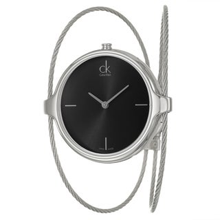 Calvin Klein Women's 'Agile' Stainless-Steel Water-Resistant Swiss Quartz Watch