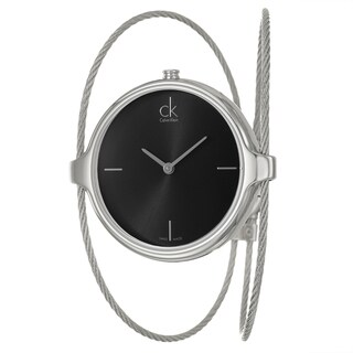 Calvin Klein Women's 'Agile' Stainless-Steel Water-Resistant Swiss Quartz Watch