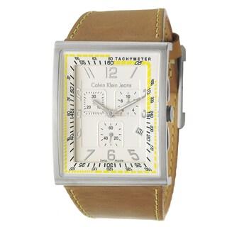 Calvin Klein Jeans Men's 'Boundary' Swiss Quartz Chronograph Watch