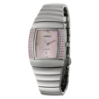 Rado Women's 'Sintra' Ceramic Swiss Quartz Watch