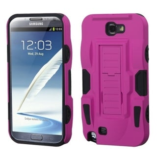 INSTEN Advanced Armor Stand Phone Case Cover for Samsung Galaxy Note II T889/ I605