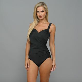 Miraclesuit Women's 'Sanibel' Black 1-Piece Swimsuit