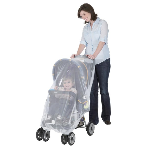 Jeep White Stroller and Carrier Netting