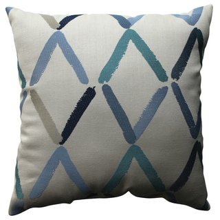Pillow Perfect Diamonte Geo 18-inch Throw Pillow