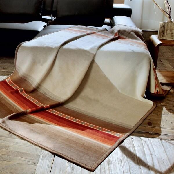 Bocasa Gabbeh Braun Woven Thermosoft Blanket