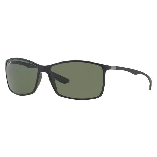 fac5476a493 Shop Ray-Ban Tech Unisex Liteforce Matte Black Polarized Sunglasses ...