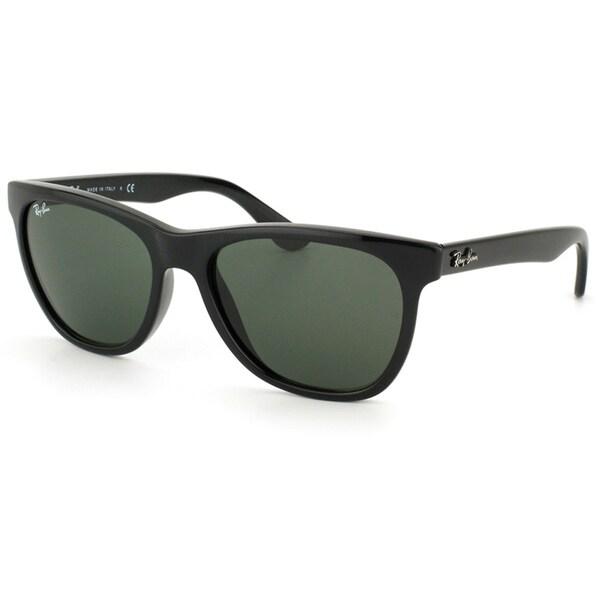 Ray-Ban Unisex Shiny Black Square Sunglasses